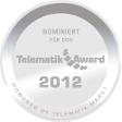 Nominiert für den Telematik Award 2012